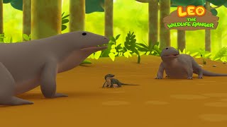 Leo the Wildlife Ranger Minisode #105 - Komodo Dragon