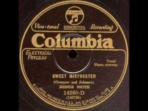 Bessie Smith - Sweet Mistreater  1927 - Harlem Renaissance Art