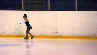"""ДЮСШ Фигурное катание """"Арена Мытищи"""" - выступление Даши 25-12-2013"""
