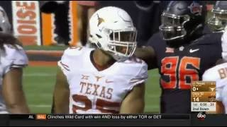 Texas vs Oklahoma State football 2016