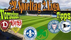 2.Liga 29.Spieltag Vorschau und Tipps // Nächste Runde Überraschungsliga + Dresden steigt ein