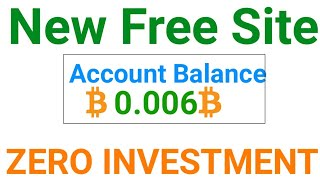 Free 0.006 Bitcoin Live Withdraw + Hyip Sites Payment Proof ||New Free Bitcoin Cloudmining Site 2020