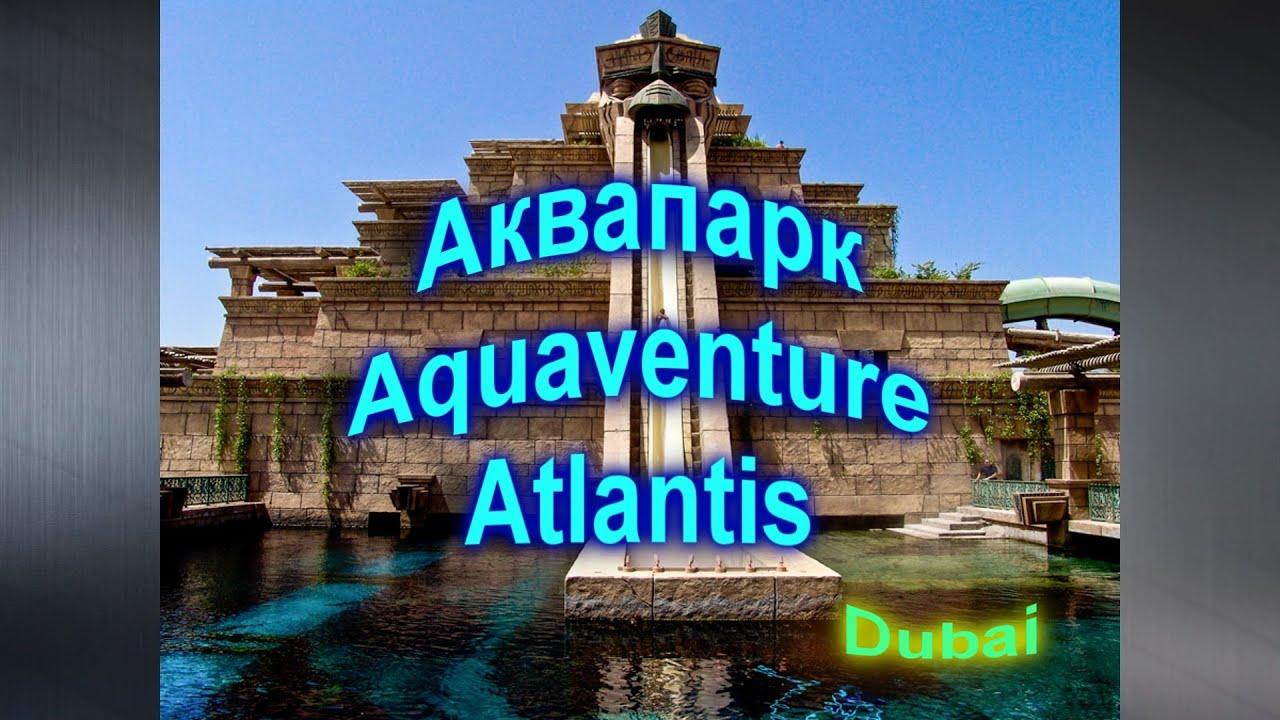 дубай аквапарк атлантис фото