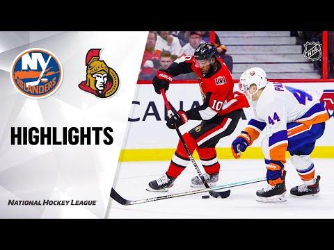 NHL Highlights   Islanders @ Senators 3/5/20