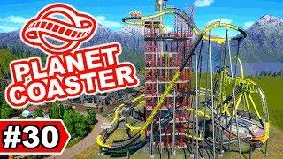 Projekt Baustelle: Hochhaus-Achterbahn  - Planet Coaster Let's Play #30