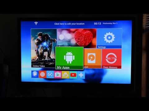 A95 OTT TV Box 4k Smart box with Kodi
