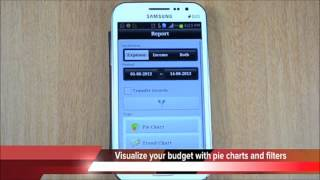 BUDGET AndroMoney 'Expense Track' App for Android [Personal Finance] screenshot 2
