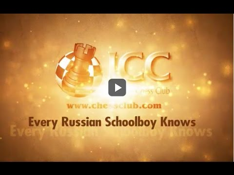 Every Russian Schoolboy Knows LIVE with GM Alex Yermolinsky 2017-04-27