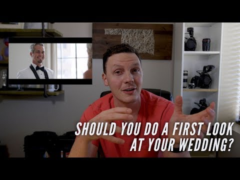 Should you do a first look at your wedding? Tips to decide whether or not to do one!