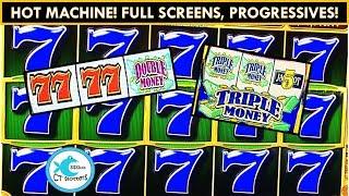 HOT MACHINE! Hot Shot All About Money Slot Machine - Huge Profit!
