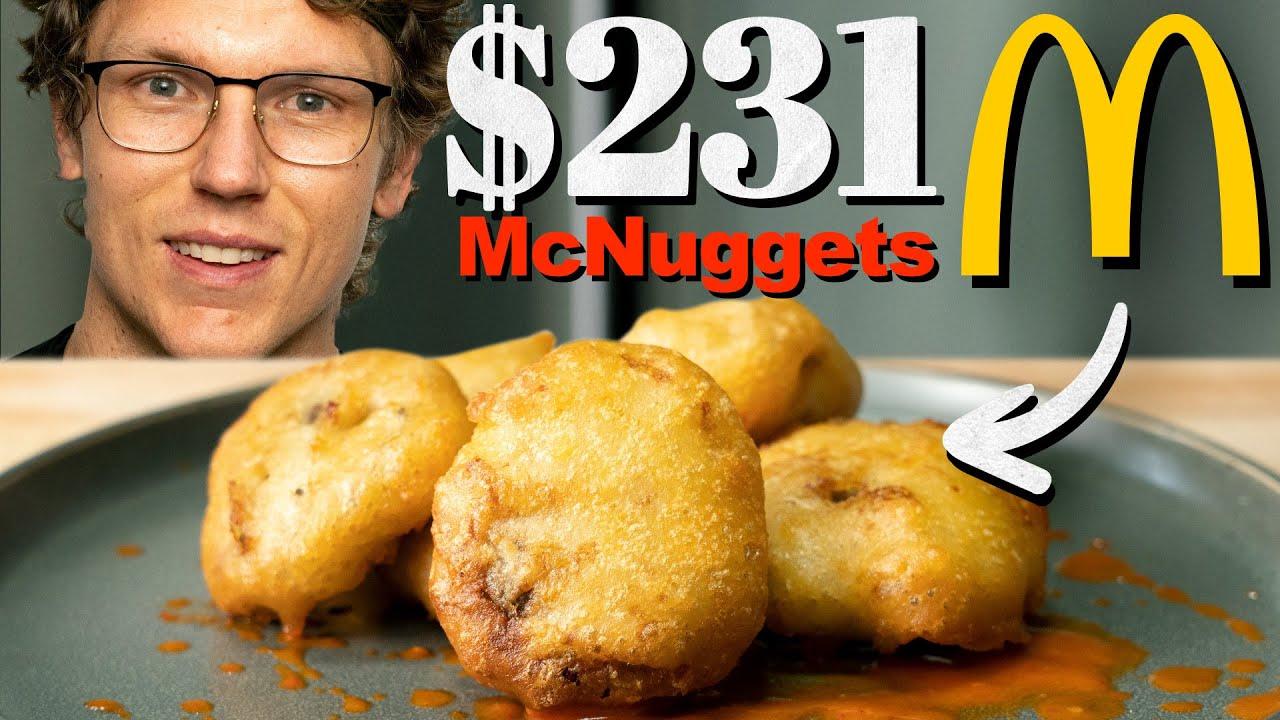 $231 McDonald's Chicken McNuggets Taste Test   Fancy Fast Food