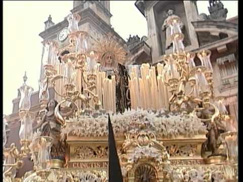 Salida de la Hermandad de la Soledad de San Lorenzo (Sevilla) - Sábado Santo 2008