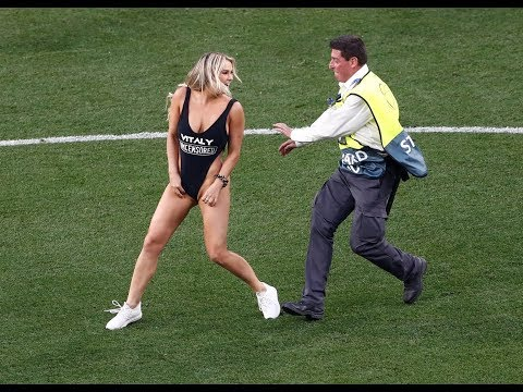 THE GIRL THAT INVADED THE CHAMPIONS LEAGUE FINAL