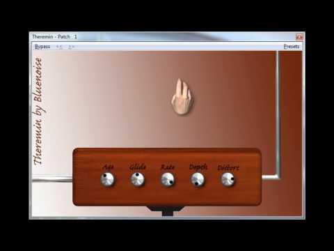 Moog Etherwave Theremin VST Emulation - YouTube