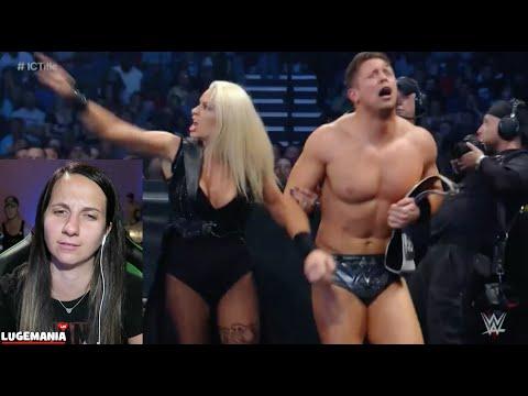 WWE Smackdown 5/26/16 Miz vs Cesaro