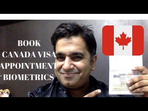 HOW TO TAKE CANADA VISA APPLICATION BIOMETRICS APPOINTMENT | MUST WATCH TO APPLY VISA FOR CANADA