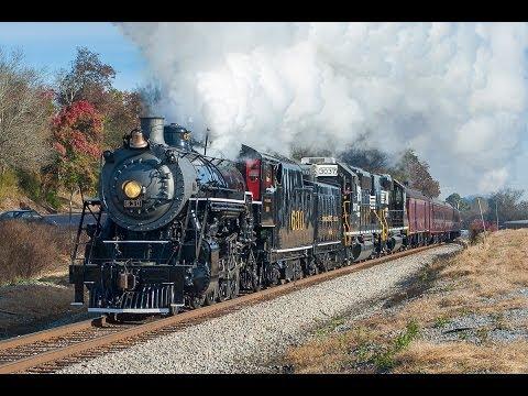 NS 21st Century Steam 11/9/13: Southern 630 - Attalla Autumn Adventure
