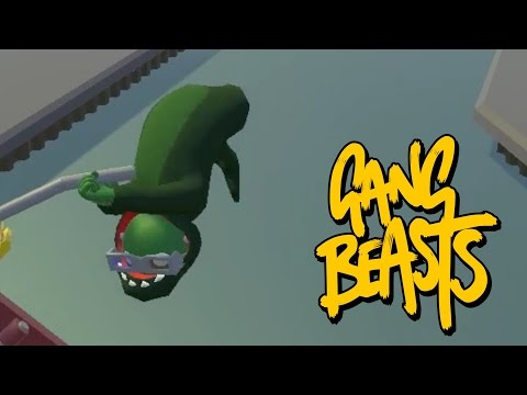 PICKLE POWER!!!!! Gang Beasts Online
