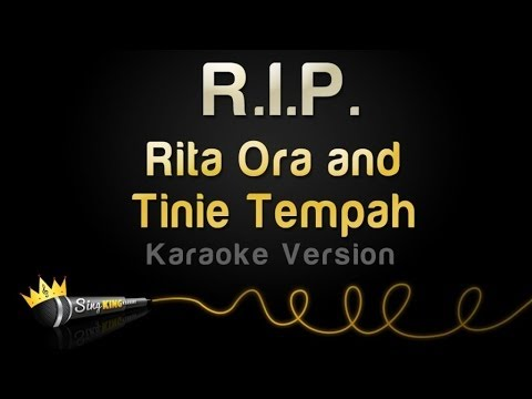 Rita Ora and Tinie Tempah - R.I.P. (Karaoke Version)