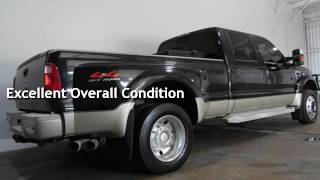 2008 ford f 450 super duty king ranch edition for sale in houston tx