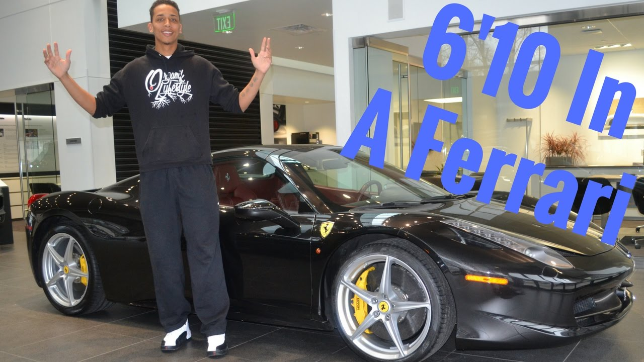 A Tall Guy In A Ferrari !! Ferrari 458 Review From A Tall Guys Perspective