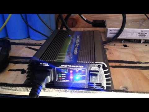 Micro inverters and grid tie in the 3kw Solar Off-Grid RV