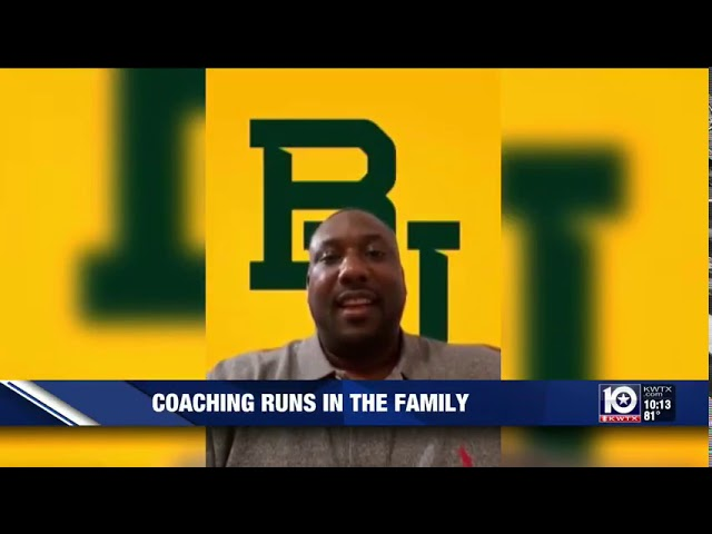 Coaching runs in the family