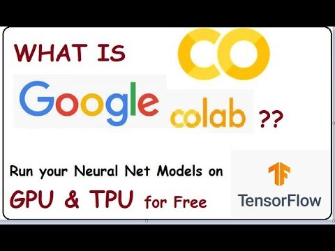 What is Google Colaboratory for ML DL? - Getting Started - DIY-1