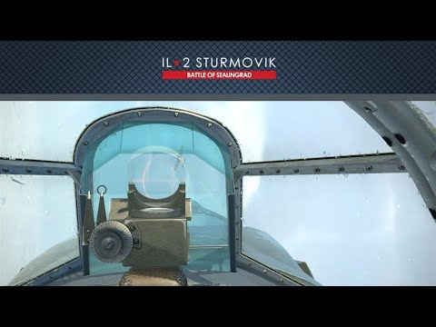 IL-2 Battle of Kuban: La-5FN quick flight test with new raindrops effect
