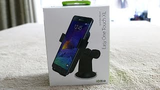 iottie easy one touch xl windshield dashboard car mount unboxing