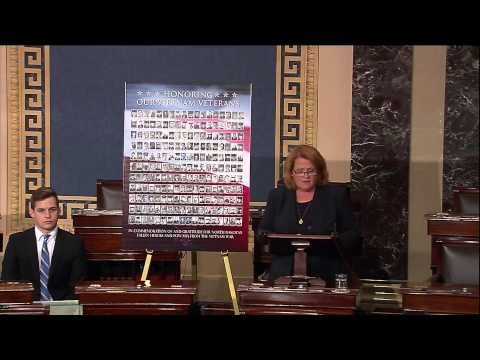 Heitkamp Kicks-Off Series of Weekly Senate Floor Speeches Honoring North Dakota Vietnam Veterans
