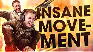 CS:GO Insane Smooth Movements -  (BHOPS , HARDJUMPS & more)