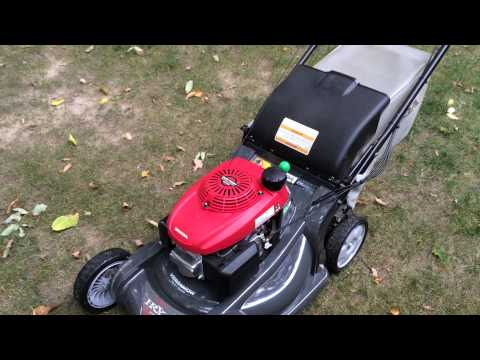 Honda HRX 217 mower review
