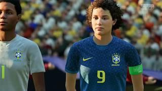Coupe Du Monde Féminine 2019 Groupe C Australie VS Bresil 13 Juin 2019 Sur Fifa 19