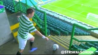 Extreme cross bar challenge - STR Unseen -  Celtic park trick shot