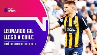 Leonardo GIL llegó a Chile para incorporarse a COLO COLO - Pelota Parada