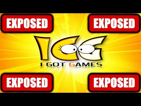 IGG HAS BEEN EXPOSED!!!