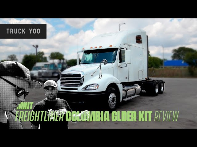 For SALE! Freightliner Columbia Glider kit review. Fresh low mileage Owner Op special.