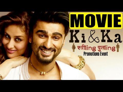 Ki & Ka Movie 2016   Hindi   Kareena Kapoor Khan   Arjun Kapoor   R Balki   Movie Promotion Event