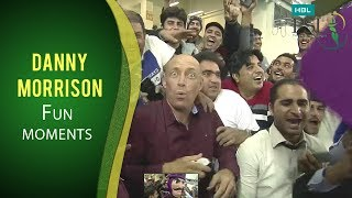 PSL 2017: Fun Moments of Danny Morrison