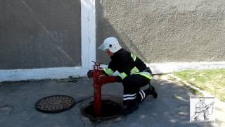 видео Схема пожарного гидранта в колодце
