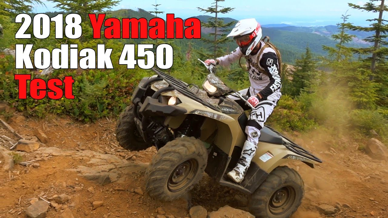 2018 Yamaha Kodiak 450 Test Review Youtube