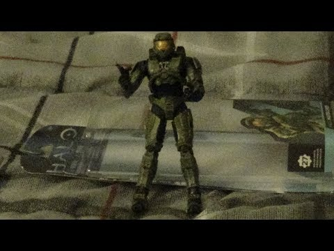 The Media Wiz Reviews... Halo 2 Master Chief Action Figure
