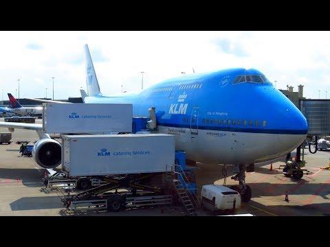 TRIP REPORT | KLM 747-400 (ECONOMY COMFORT) | Toronto To Amsterdam | Full Flight!