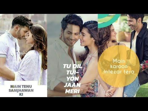 Full Screen Whatsapp Status || Main Tenu Samjhawan Ki Love Song