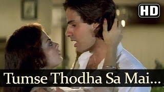 Tumse Thoda Sa Door (HD) - Pyaar Ka Saaya Songs - Rahul Roy - Sheeba - Kumar Sanu - Asha Bhosle