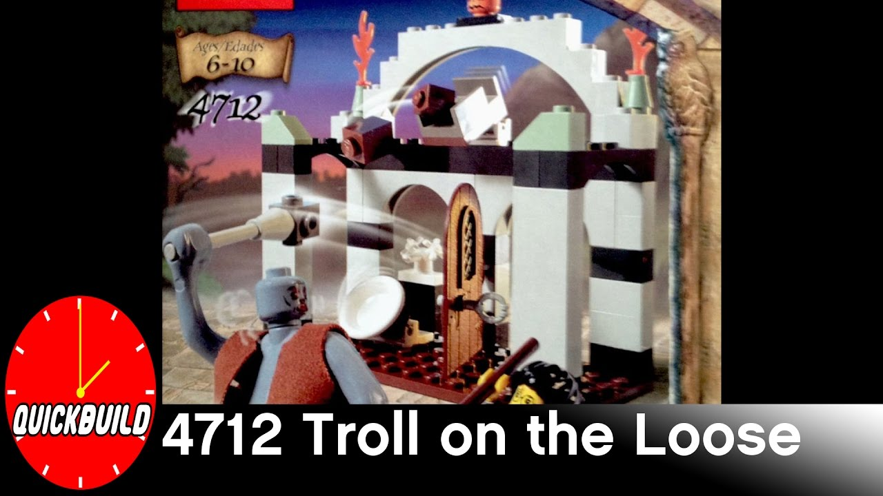 Lego harry potter 4712 troll on the loose quick build and review quick build bricks