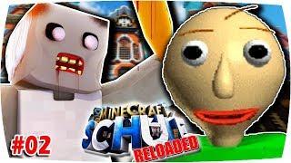 Minecraft SCHULE Rel.: GRANNY & BALDI SPIONIEREN uns aus!!! 😡 | #02