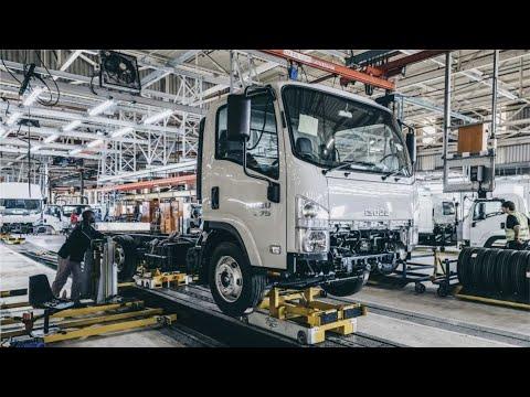 Isuzu Truck Factory - Production of Japanese trucks