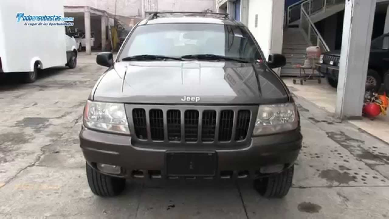Jeep grand cherokee limited 4x4 blindada rines de for Interieur jeep grand cherokee 2000